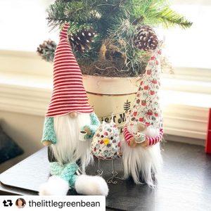 handmade christmas gnomes