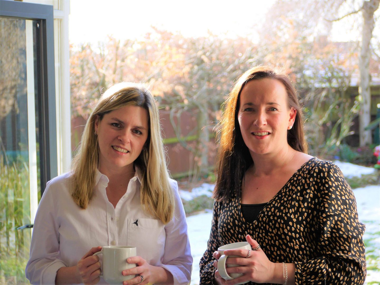 Kate Gregory and Michelle Cairncross, women in business interviewed for The Homeworker
