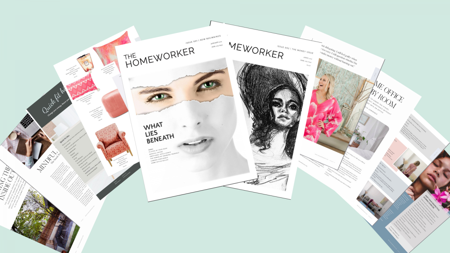 The Homeworker magazine work from home advice