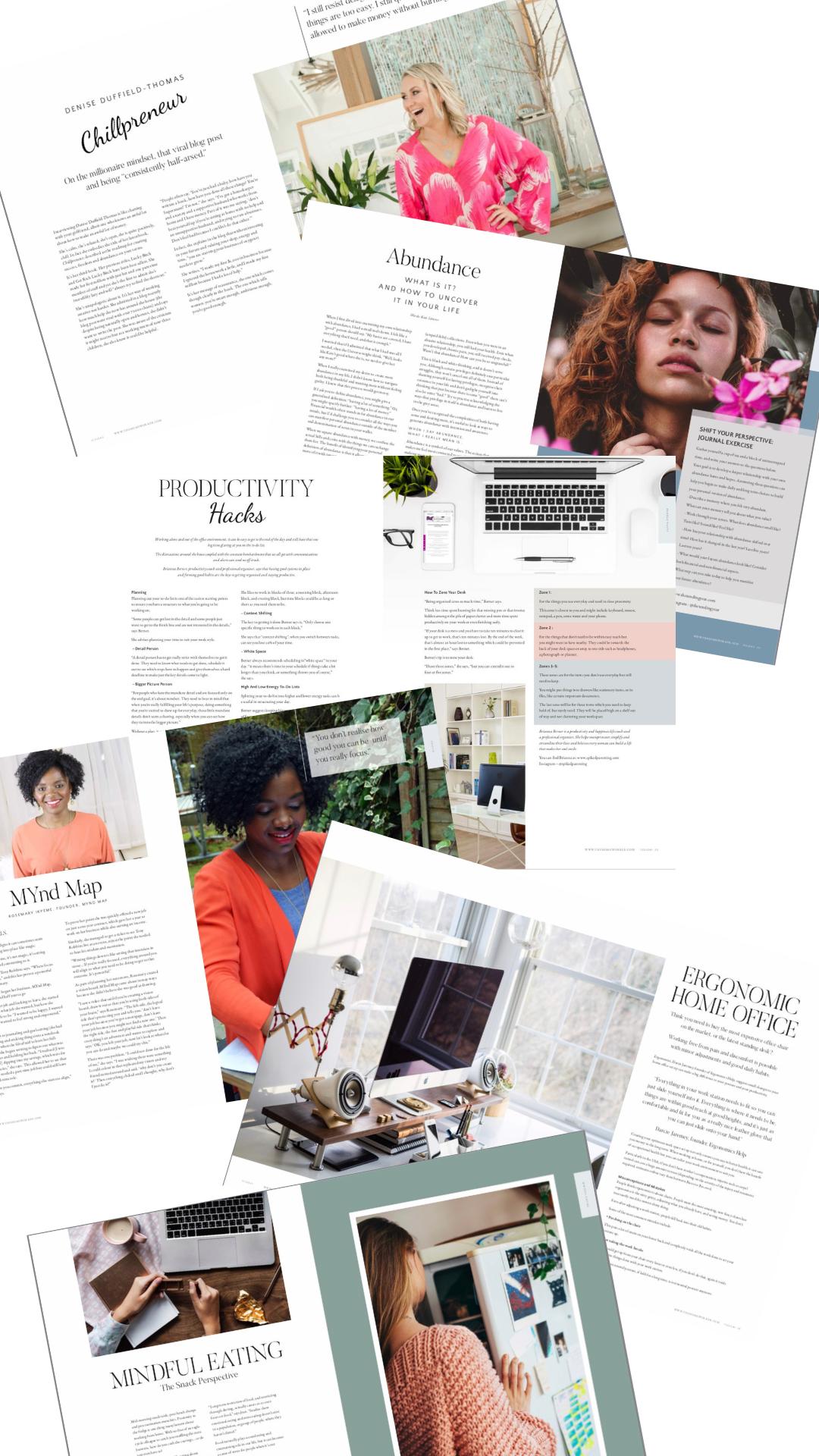 work from home, freelance tips, self-employment, money blocks, abundance, the homeworker magazine
