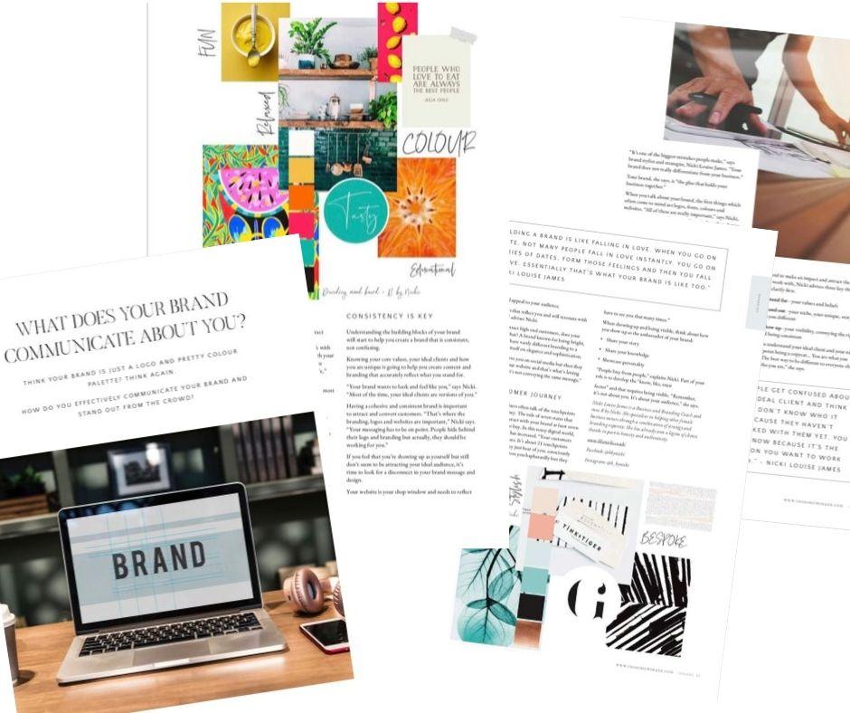 branding, brand values, brand recognition, communicating your brand, the homeworker magazine