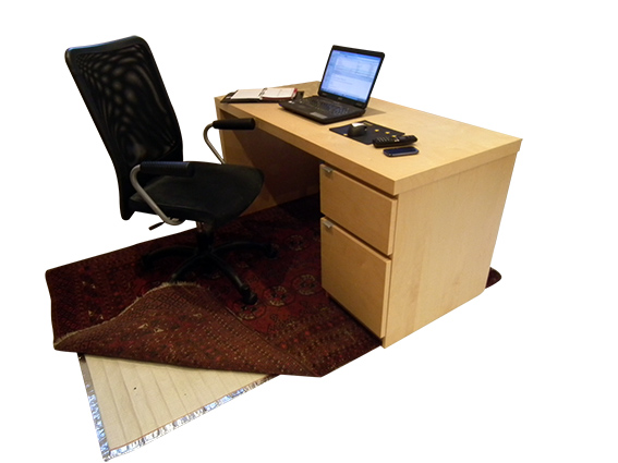 under rug heating heat home office, economical room heating