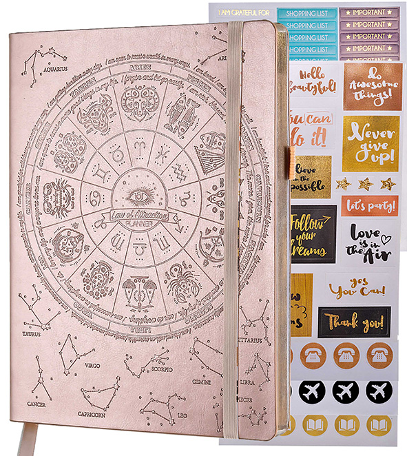 The Homeworker reviews the Law of Attraction, Manifestation Planner by Freedom Mastery