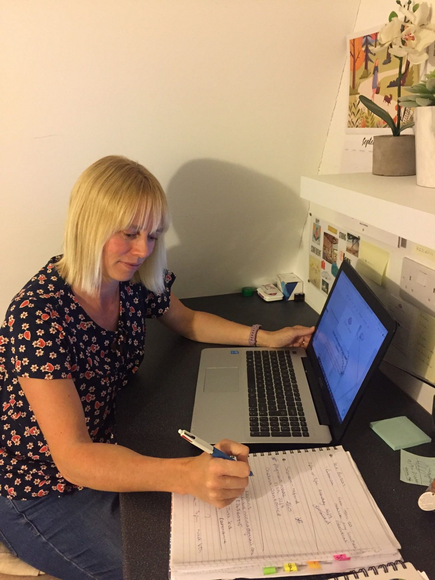 Working from home, Emm aRowley profile on The Homeworker