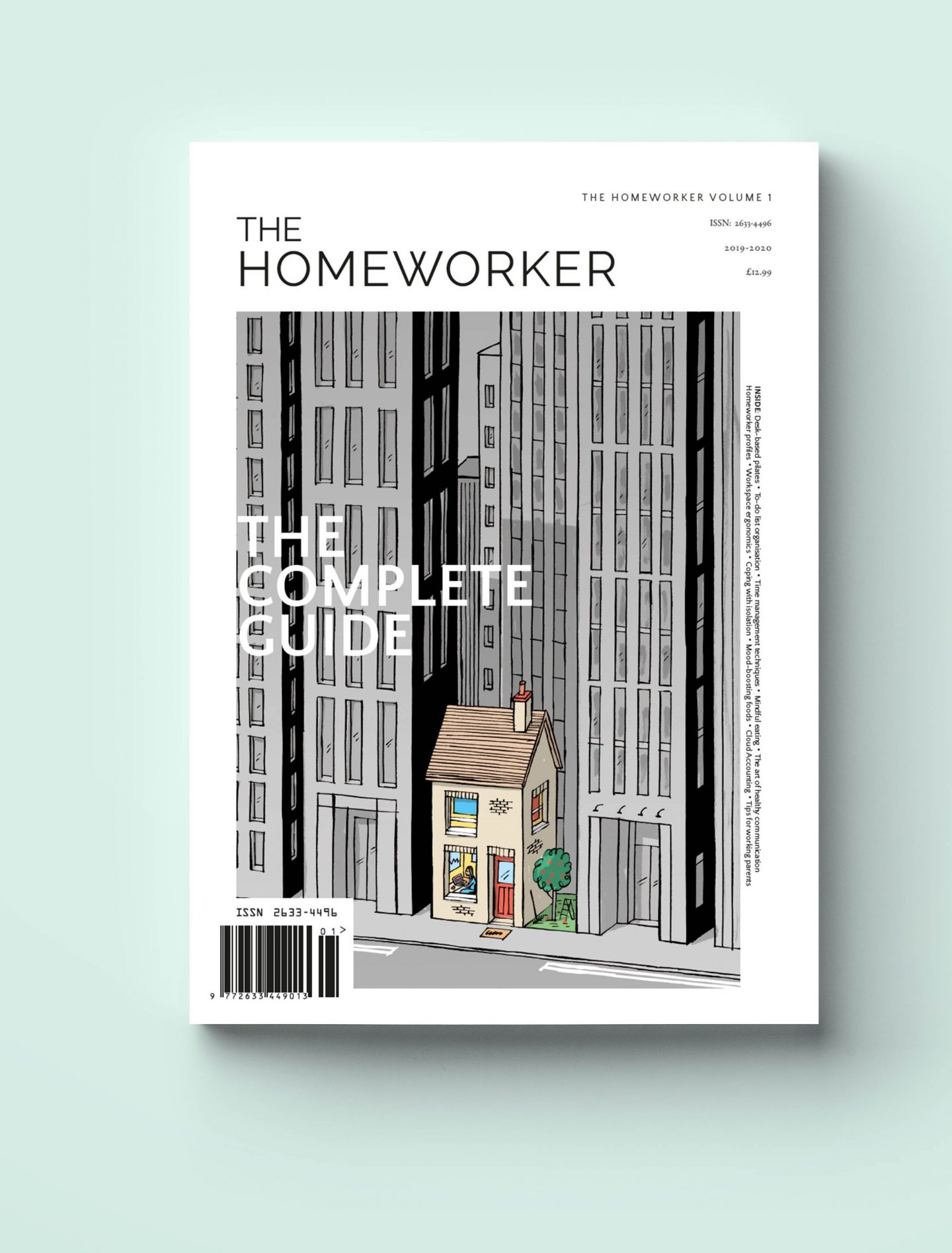the homeworker magazine print issue, guide to working from home