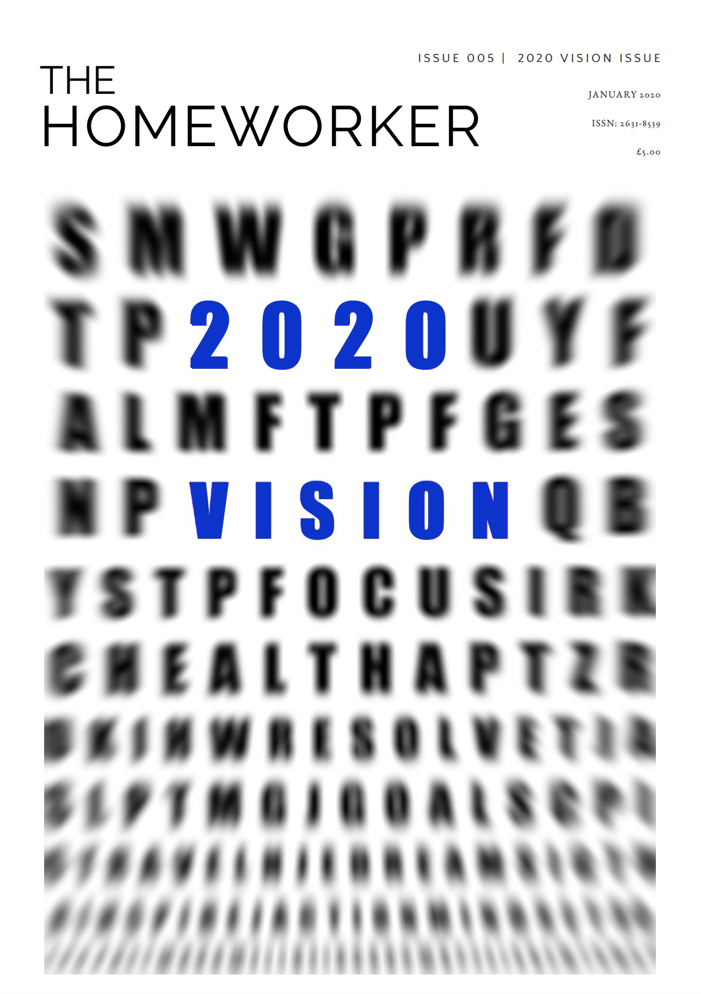 the homeworker magazine, issue 5, 2020 vision