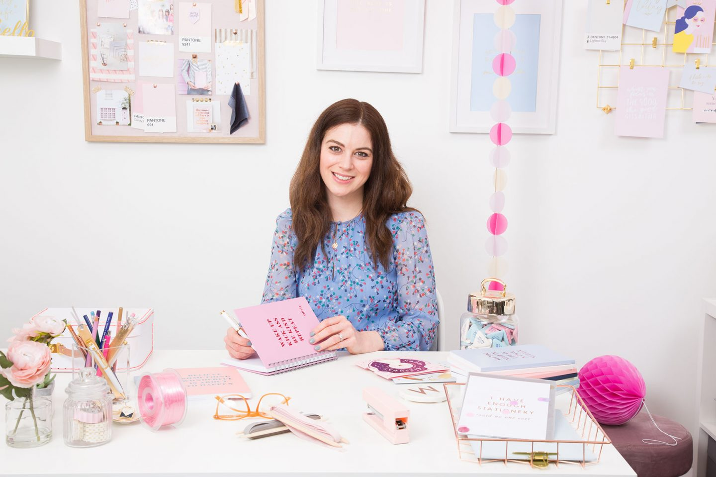 Martha Keith from Martha Brook London stationery, interviewed in the Homeworker magazine