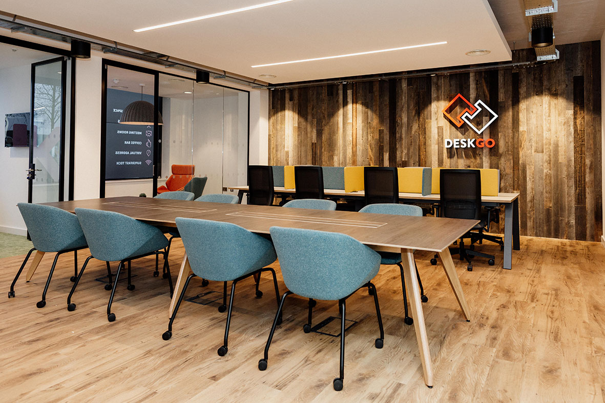 DESKGO: community is a big benefit of a coworking space