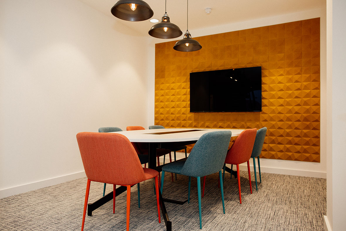 private meeting rooms at DESKGO coworking offices