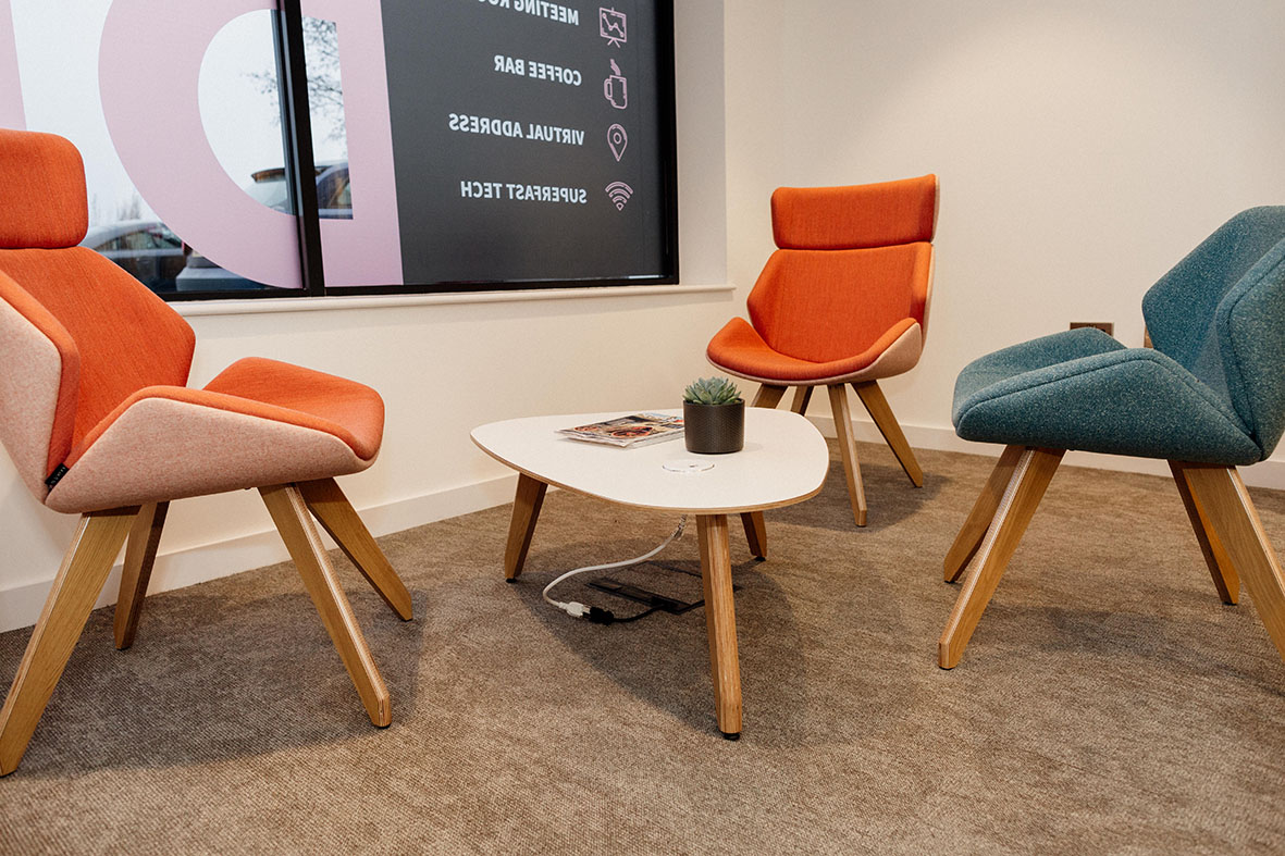 small breakout rooms at DESKGO in Peterborough