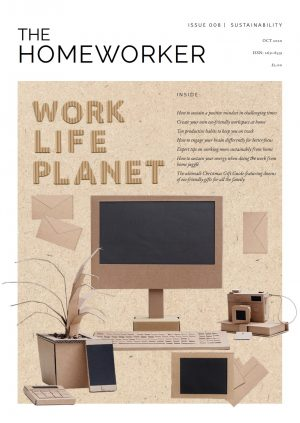 The Homeworker Issue 8 sustainability cover