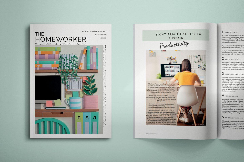 The Homeworker magazine volume 2