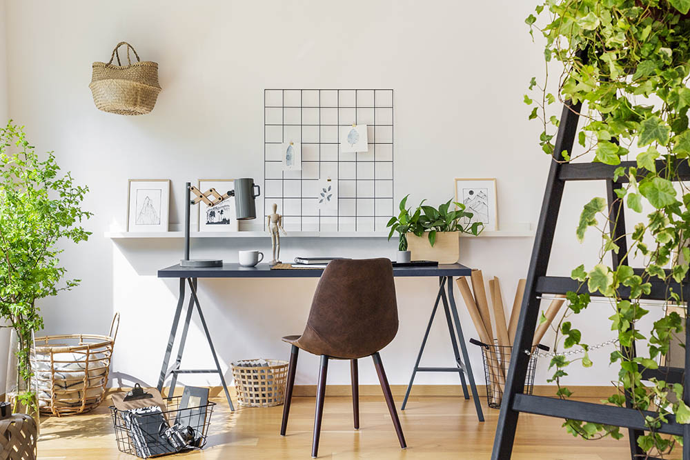 green workspace: sustainability when working from home