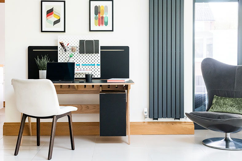 morph desk - bespoke desk fro working from home on The Homeworker