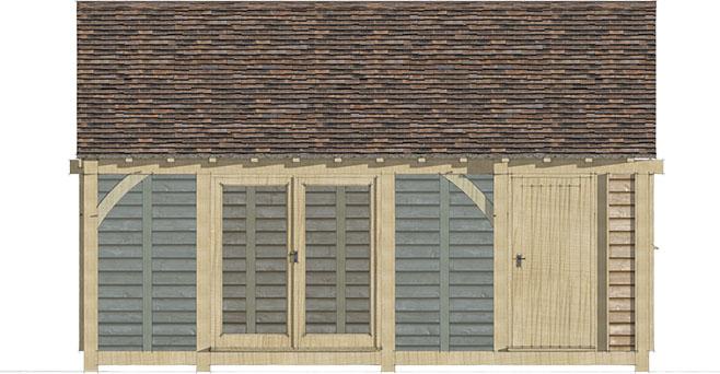 garden office ideas, The Morris design by Mitre Oak