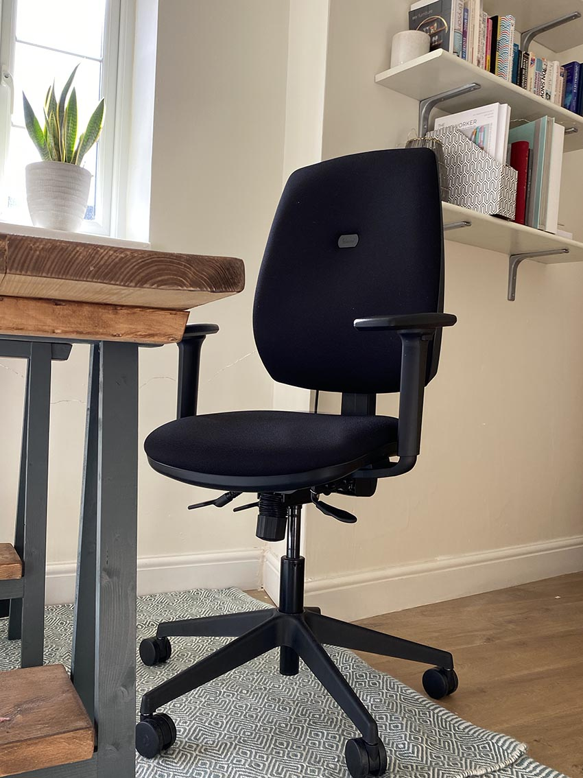 The Homeworker Plus ergonomic chair for working from home