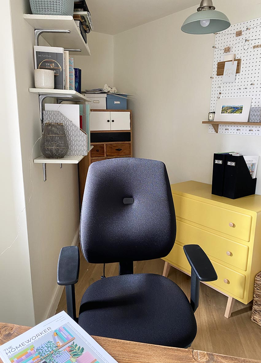 The Homeworker Plus home office ergonomic chair by Posturite