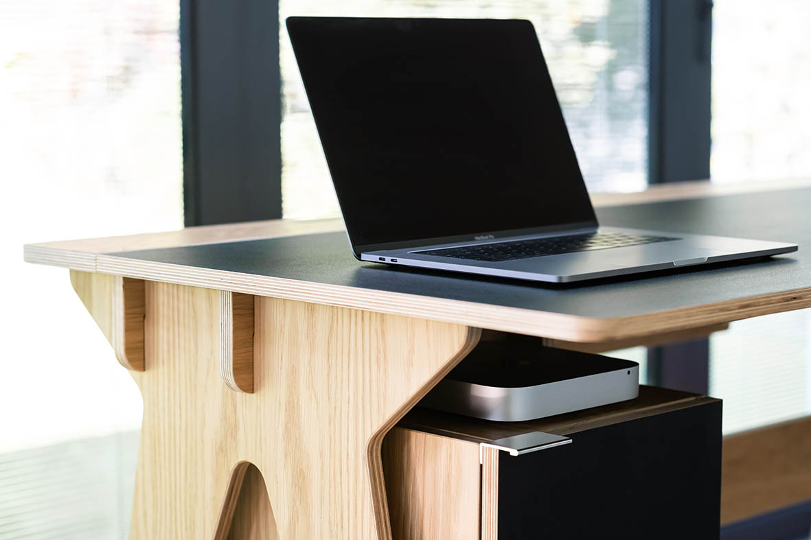 bespoke desk fro working from home by Morph Furniture