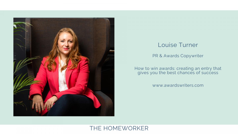 win business awards: The Homeworker tea breaks