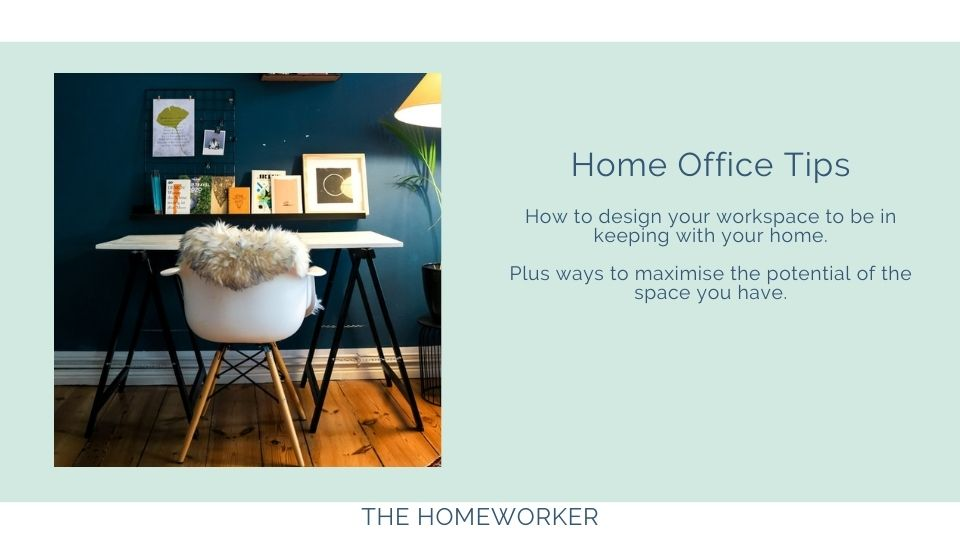 home office tips on The Homeworker